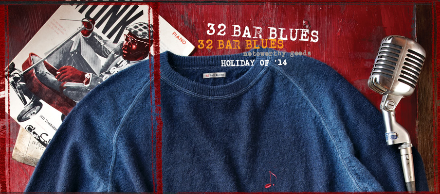 32 Bar Blues Noteworthy Goods Sweaters