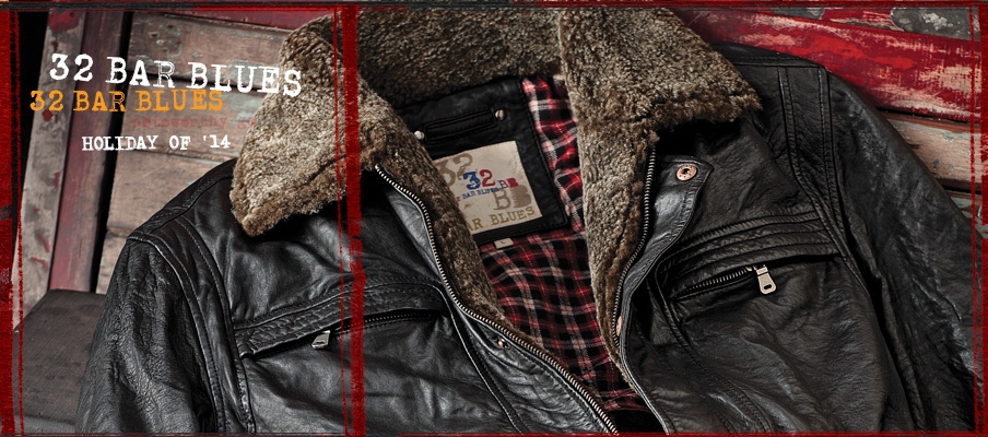 32 Bar Blues Noteworthy Goods Jackets