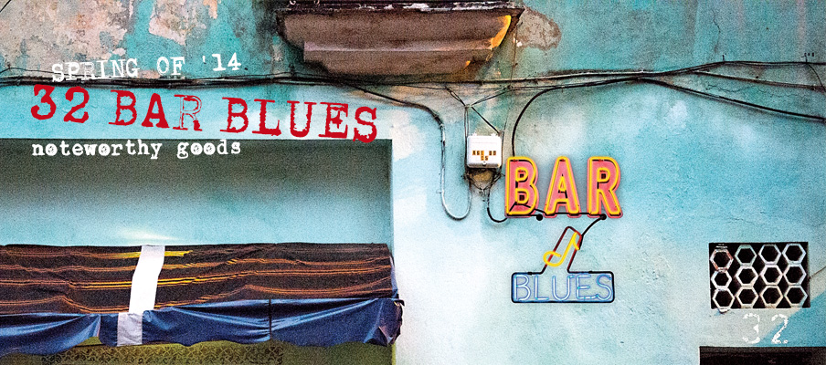 32 Bar Blues noteworthy goods - Clothing