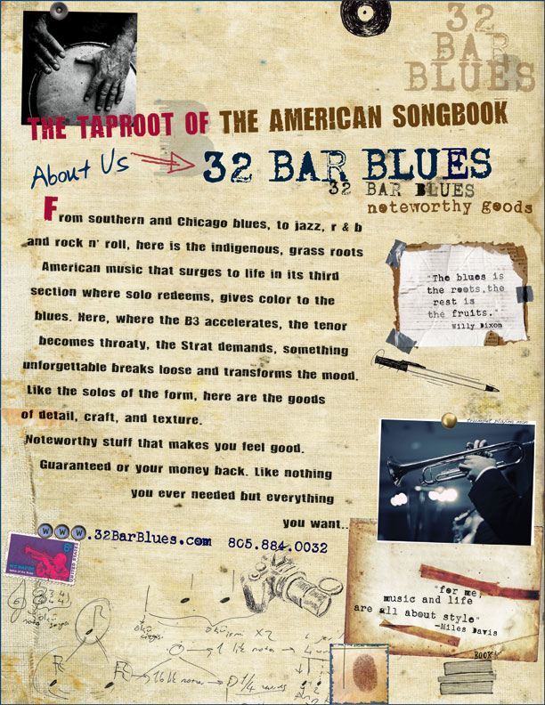 About 32 Bar Blues